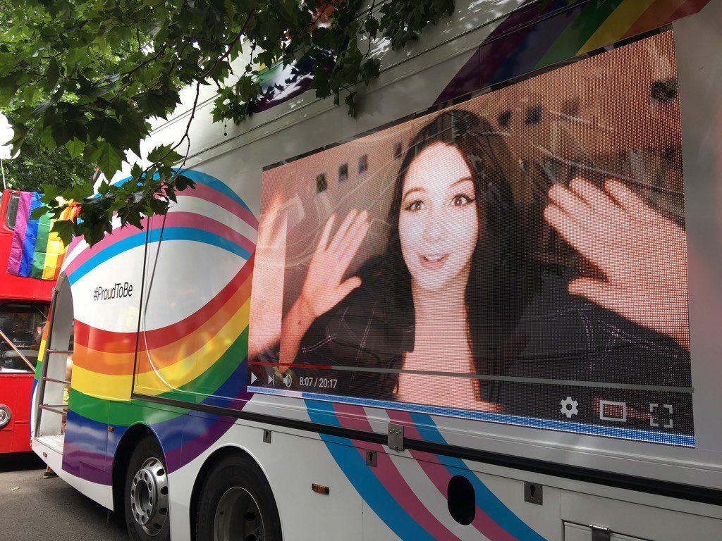 YouTube LED Parade Vehicle