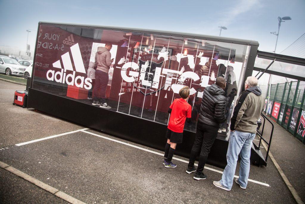 The Clear Idea Adidas Glitch Roadshow